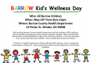 Barrow County Kid's Wellness Day May 18th