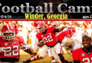Winder/Barrow County GA Kid's Football Camp 2016